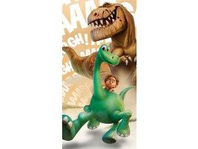 Osuška Hodný Dinosaurus Arlo a Butch 70/140 - skladem