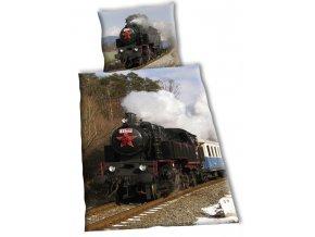 Povlečení Parní lokomotiva 140/200