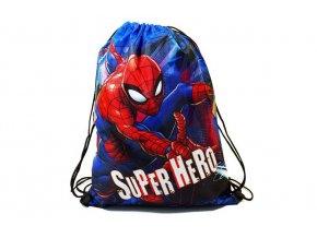 BENIAMIN Taška na tělocvik a přezůvky Spiderman Polyester, 34x43 cm