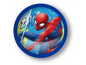 EUROSWAN Dotyková LED lampička Spiderman Plast, průměr 13 cm