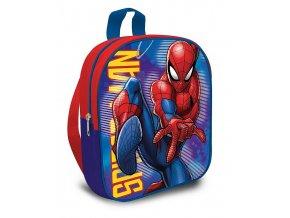 EUROSWAN Dětský batůžek Spiderman blue  Polyester, 29 cm