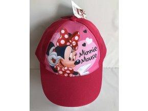 EUROSWAN Kšiltovka Minnie růžová vel.52  Polyester