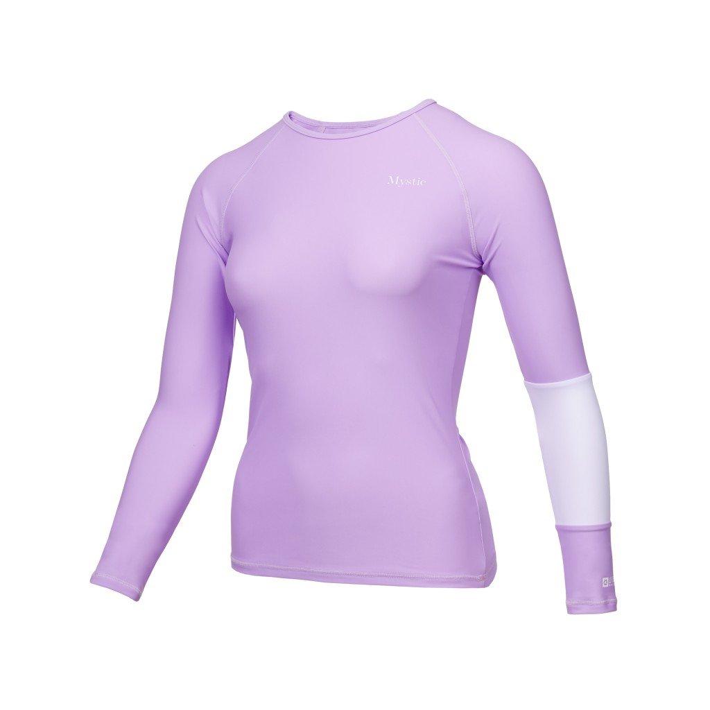 Lykra Jayde LS Rash Vest Women, Pastel Lilac