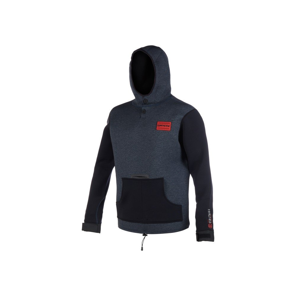 Neoprénová bunda Voltage Sweat, Navy/Red