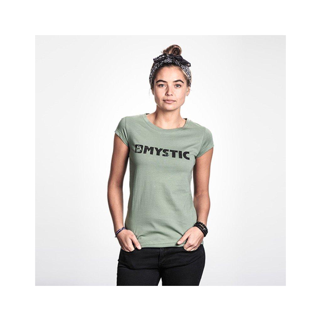 Dámské tričko Brand Tee Women, Seasalt Green