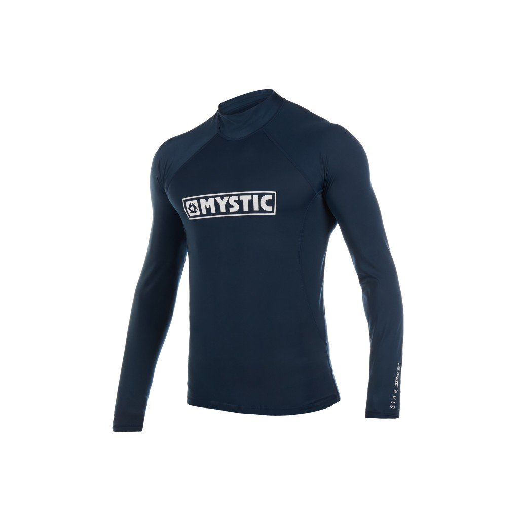 Lykra Star L/S Rashvest Junior, Navy