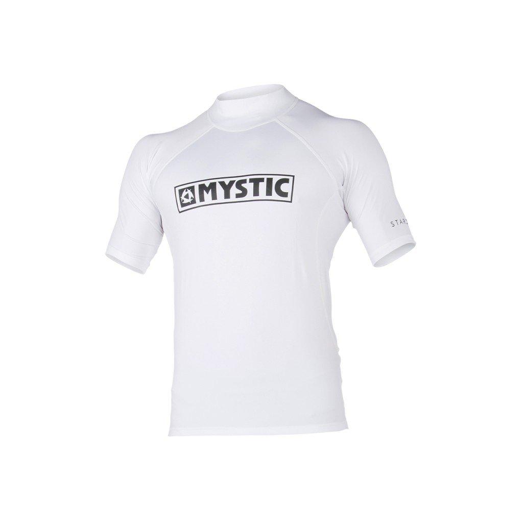 Lykra Star S/S Rashvest, White