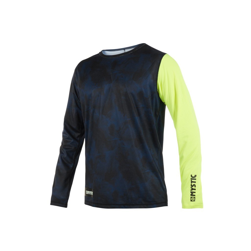 Tričko do vody Majestic L/S Quickdry, Lime