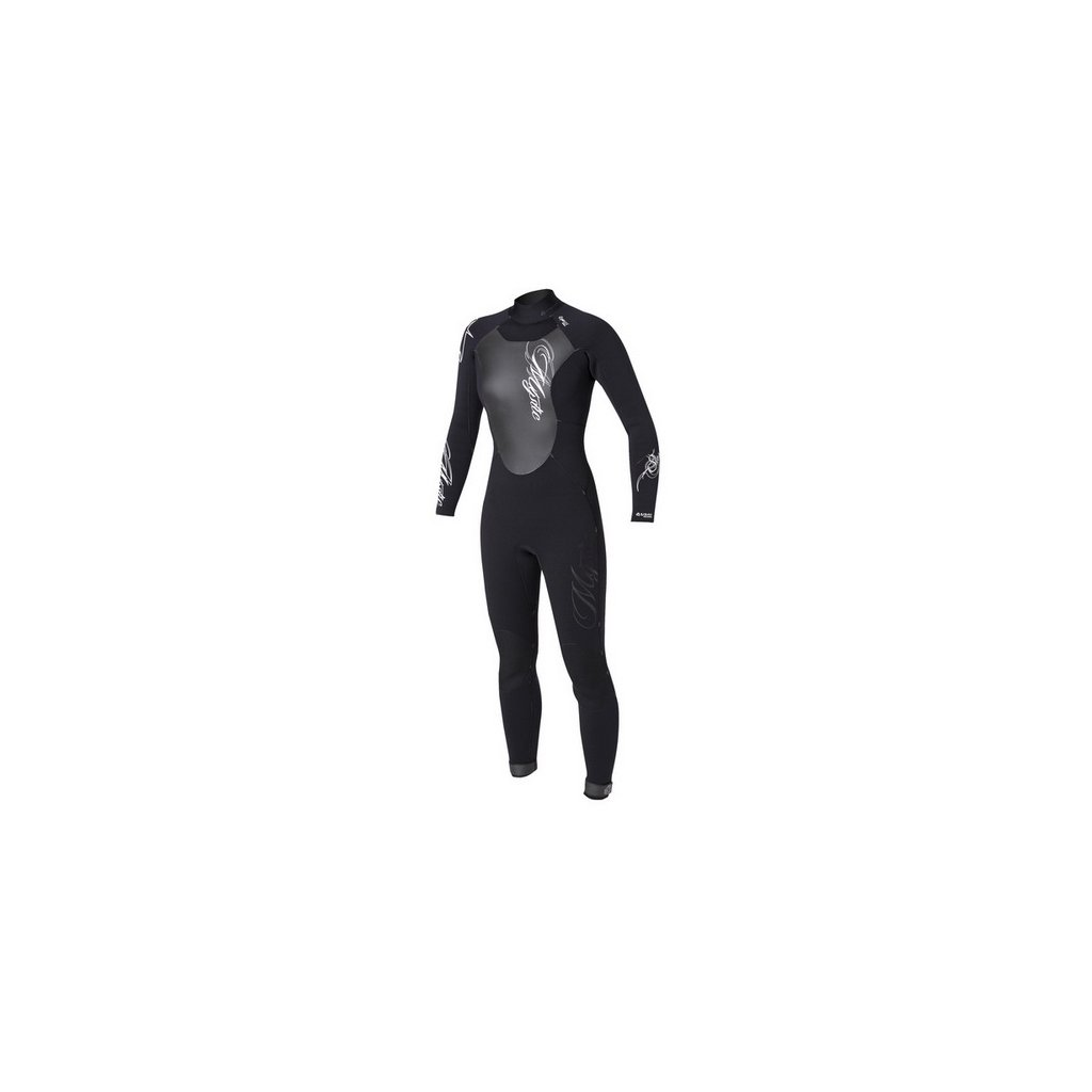 Neoprén Star 5/4 Fullsuit Women, Black