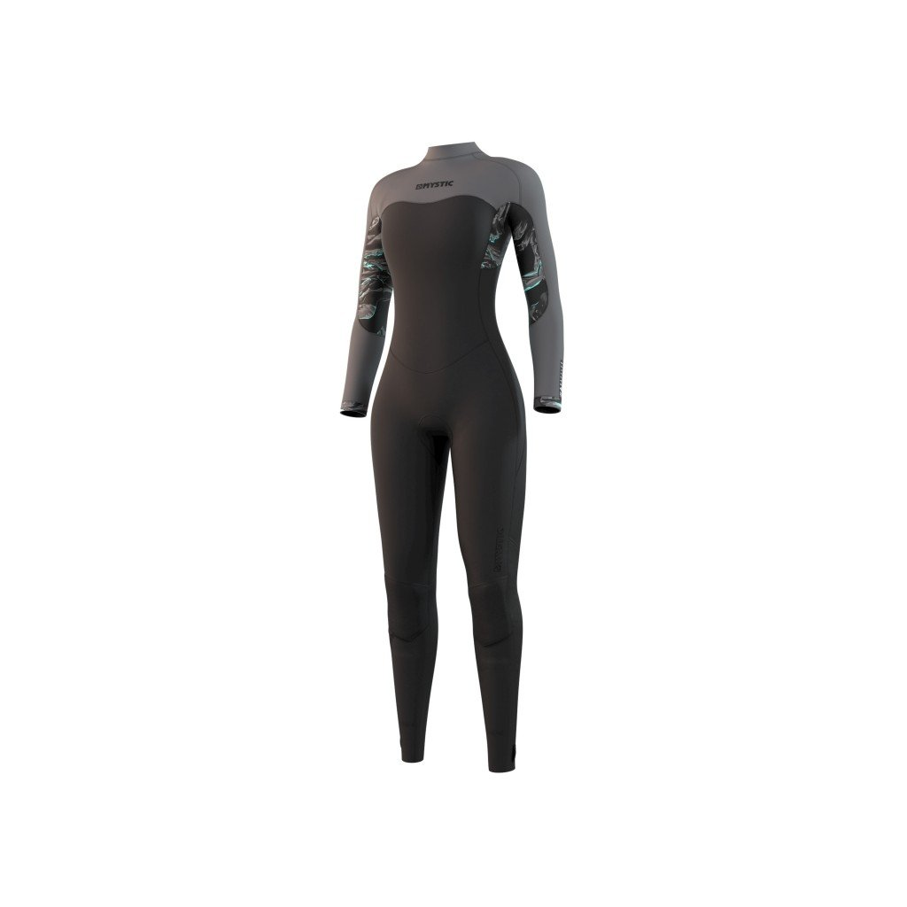 Neoprén Dazzled Fullsuit 5/3mm Bzip Women, Black