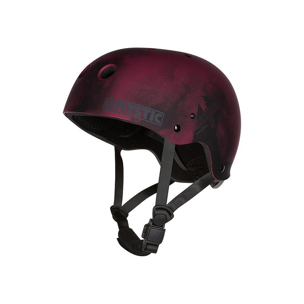 Helma MK8 X (bez chráničů uší), Oxblood Red