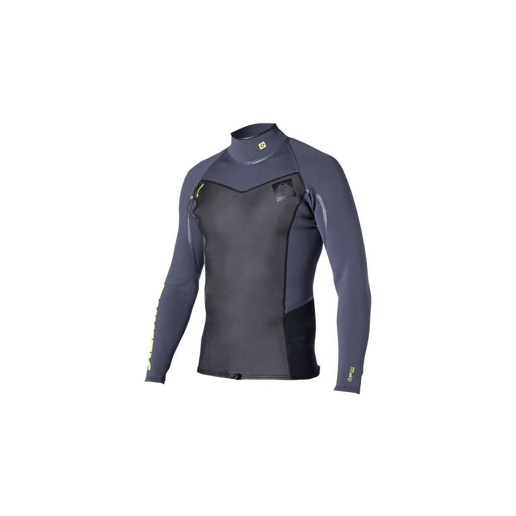 Neoprenové tričko Majestic Vest L/S Men, Grey