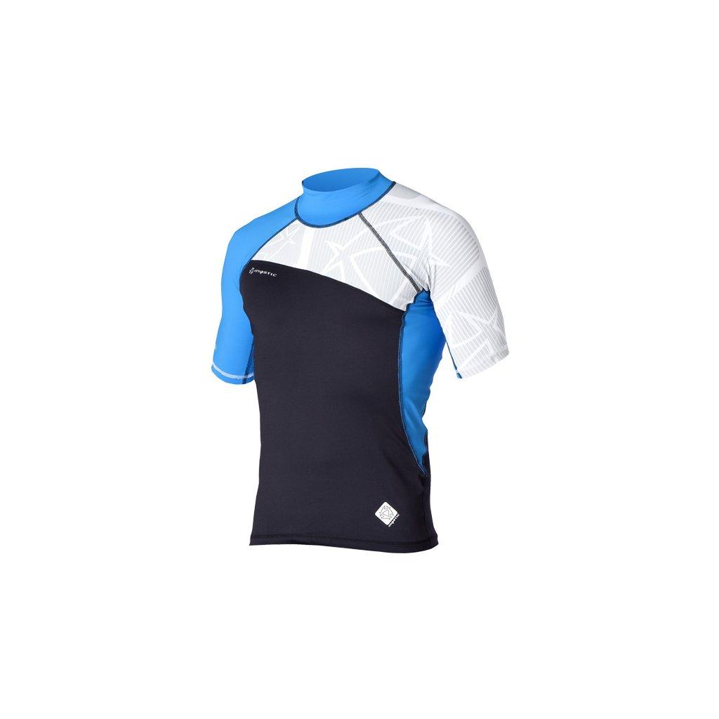 Lykra Crossfire Rash Vest S/S 1, Blue
