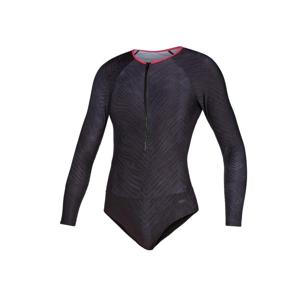 Diva L/S Swimsuit, Phantom Grey