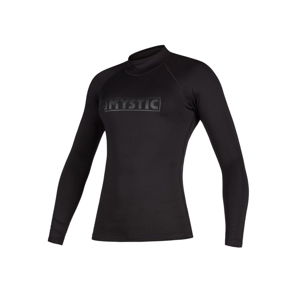 Lykra Star L/S Women Rashvest, Black