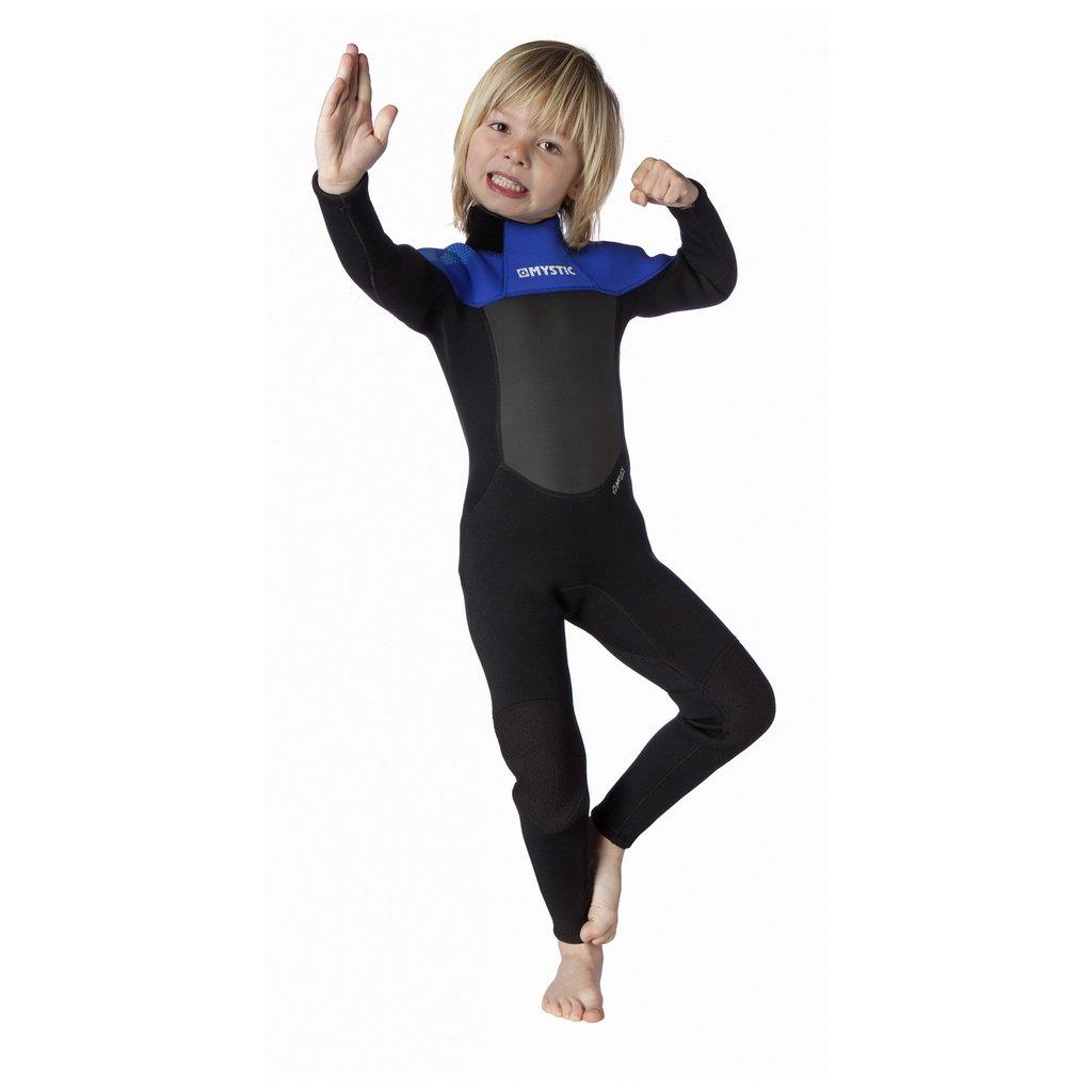 Neoprén Star 3/2 Fullsuit Kids Flatlock, Blue