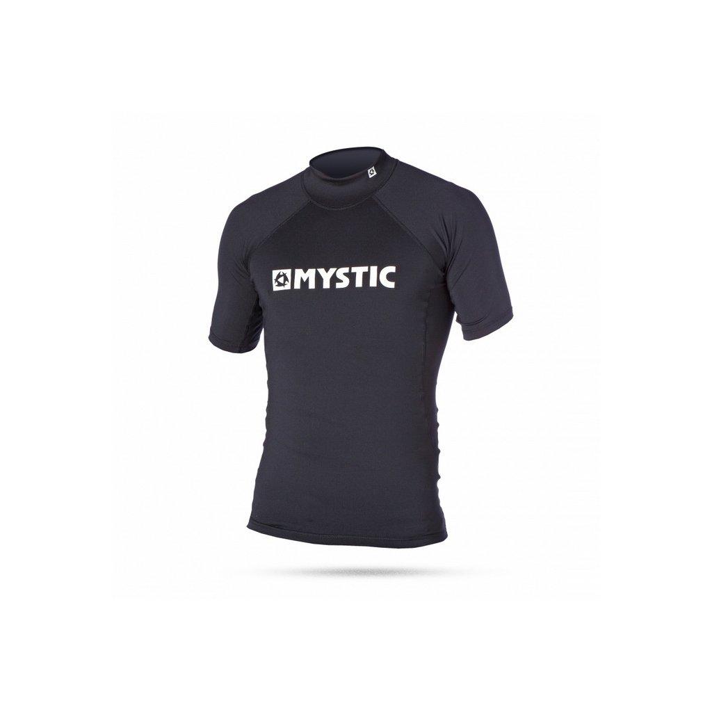 Lykra Star Rash Vest Junior S/S, Black