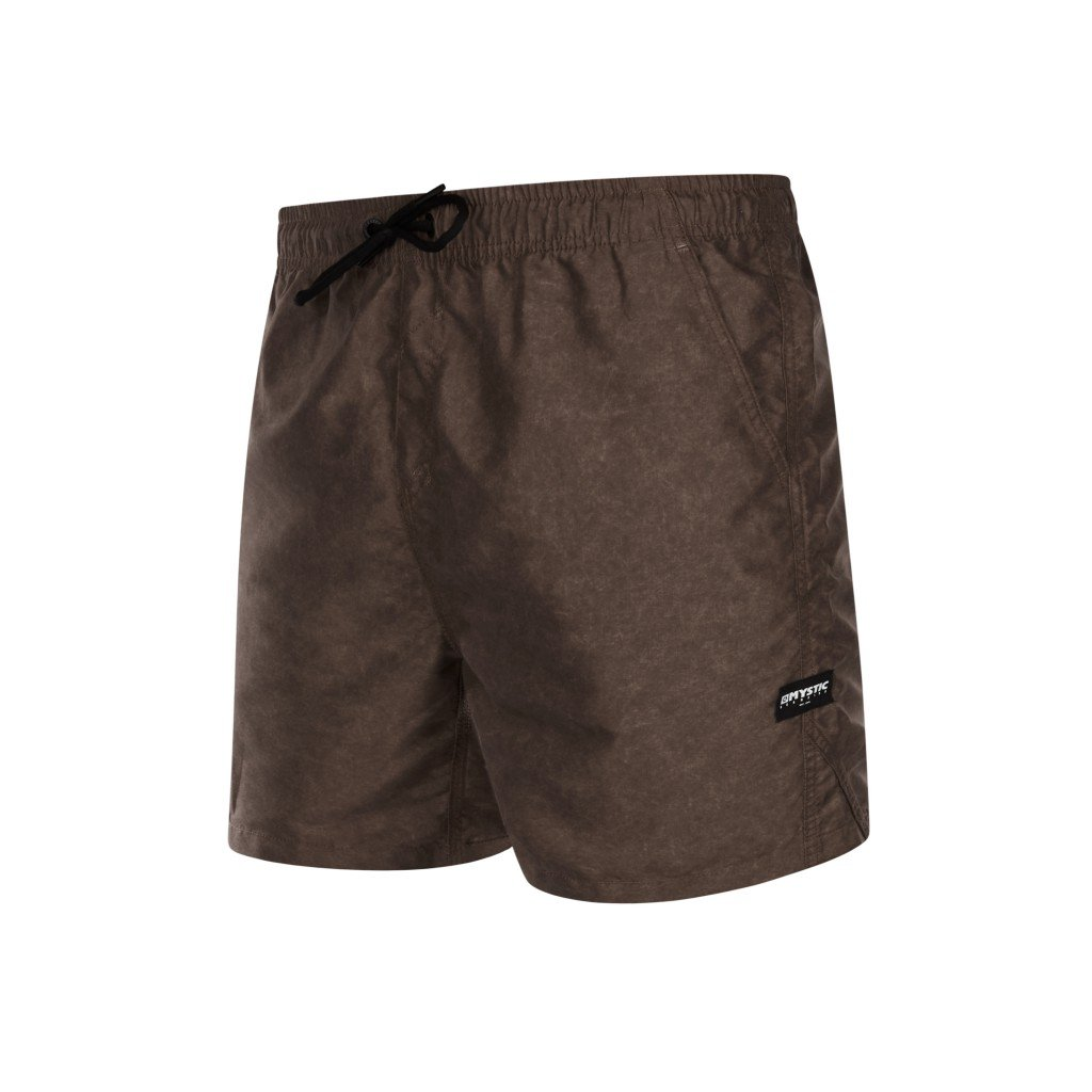 Pánské boardshorty Brand Swim Boardshort, Dark Brown