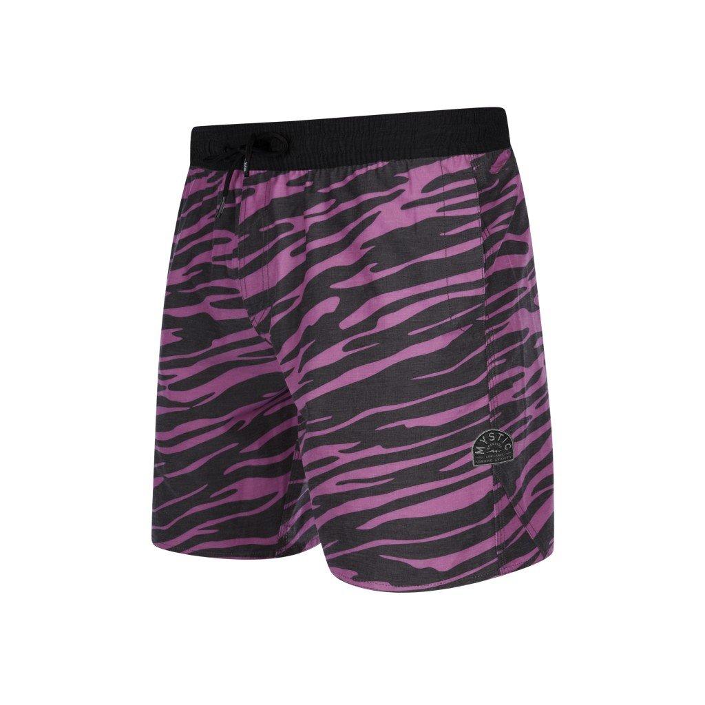 Dámské boardshorty Wild Fire Boardshort, Black / Pink