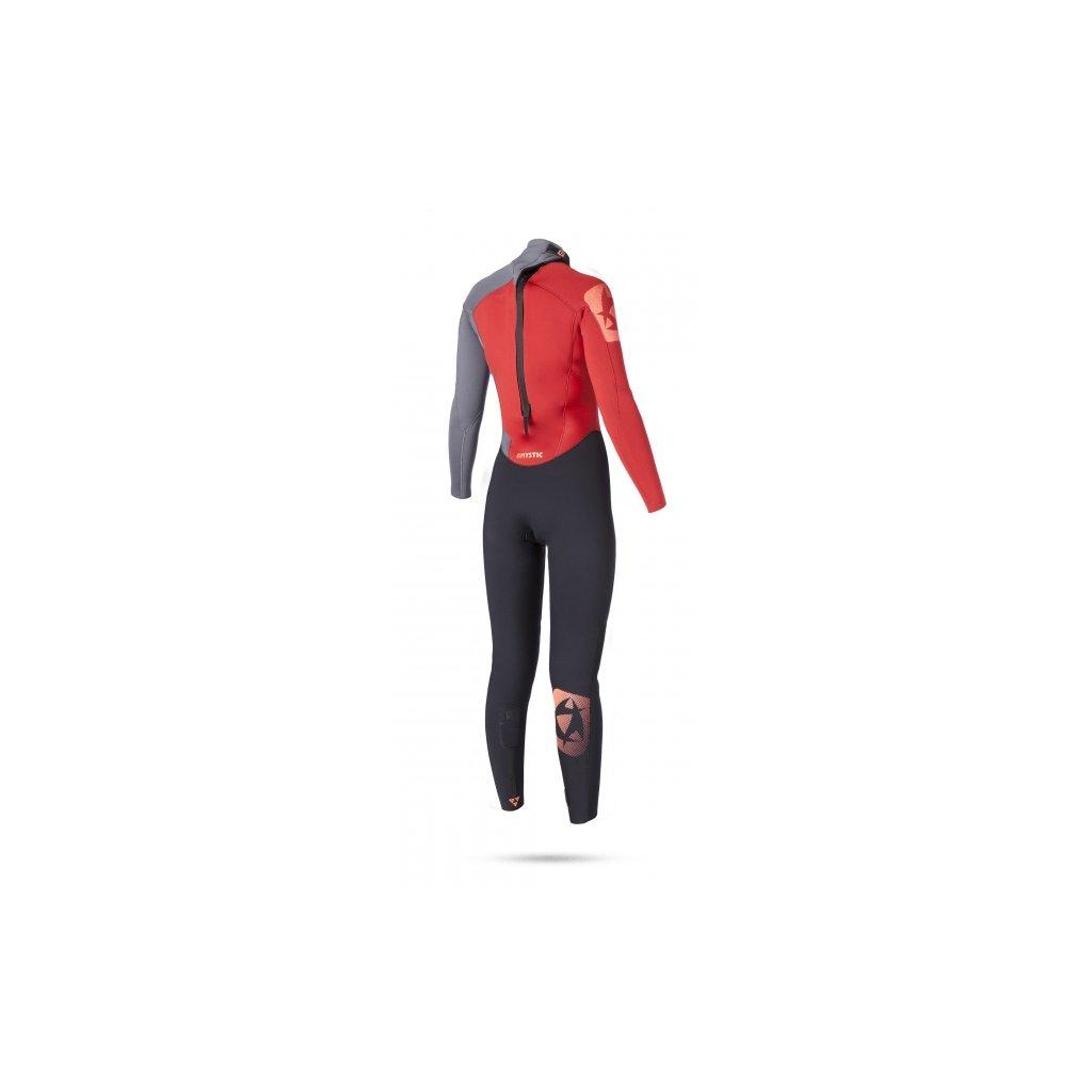 Neoprén Diva 5/4 Fullsuit Women, Coral