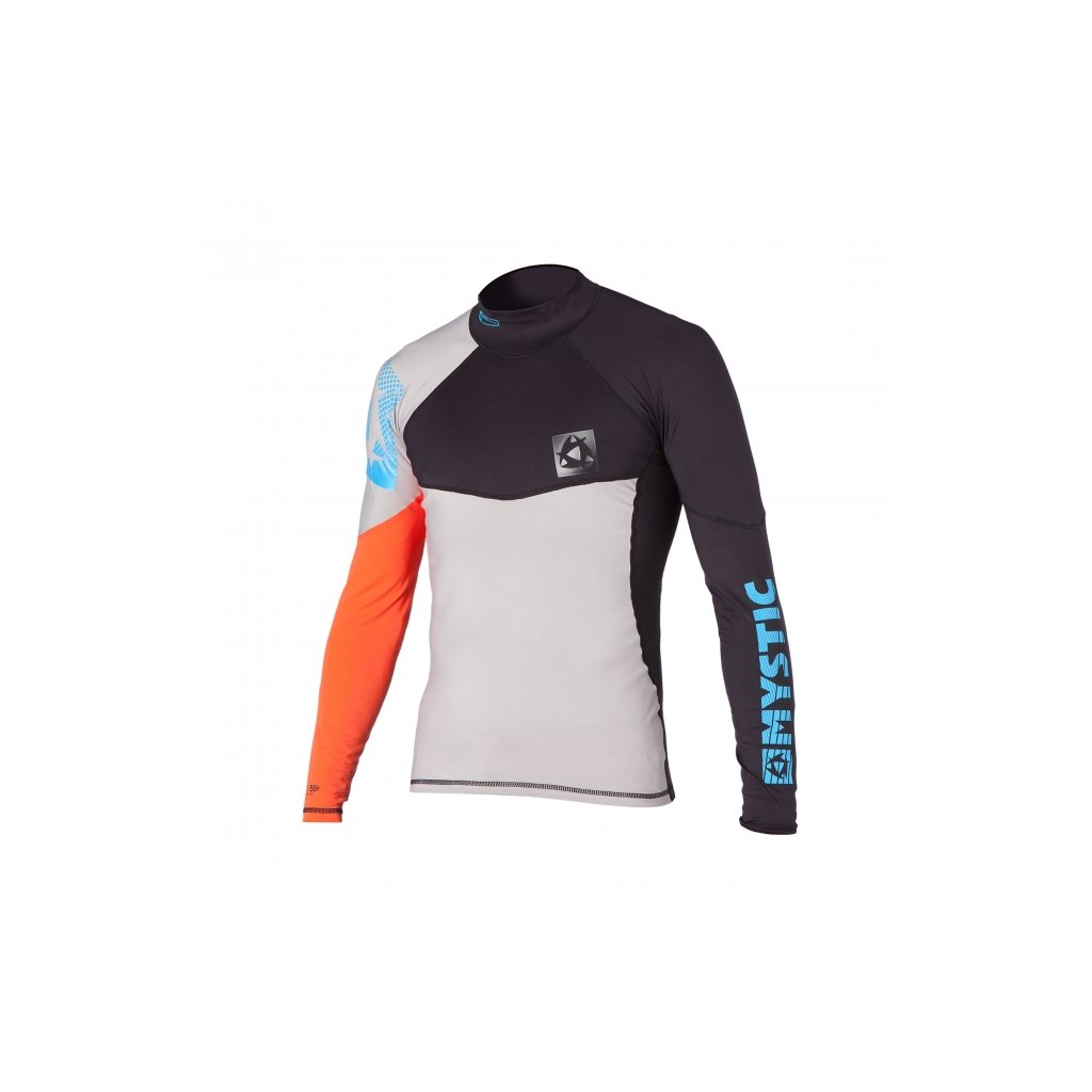 Lykra Crossfire Rash Vest L/S, Orange