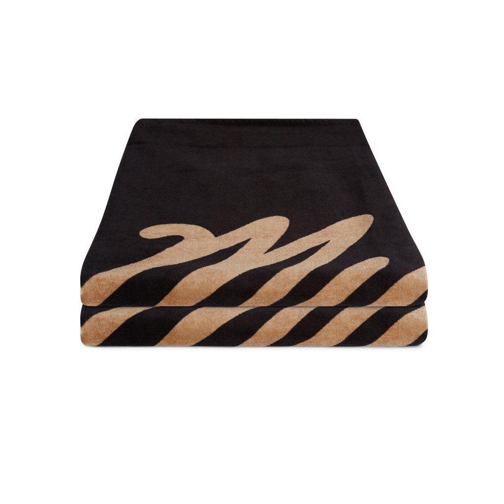 Ručník Towel Quickdry, Black Allover