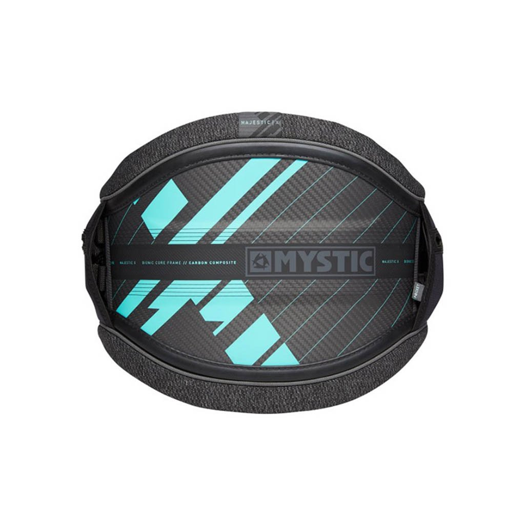 Kite trapéz Majestic X (no hook), Black/Mint