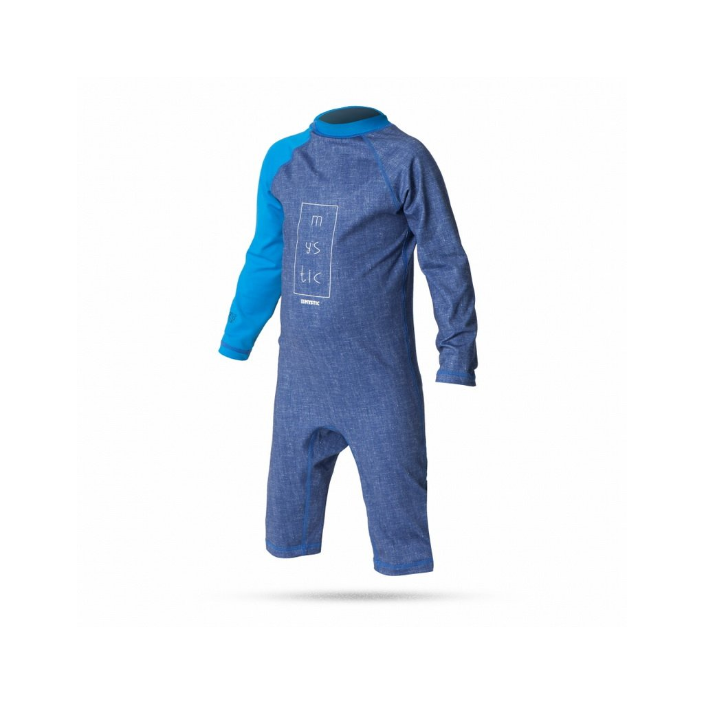 Lykra Star Rash Vest Overall Kids, Blue