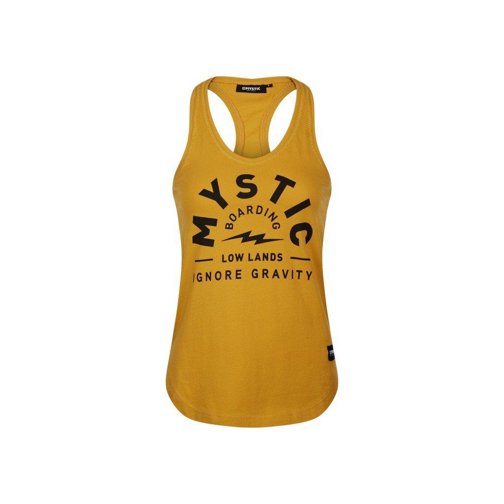Dámské tričko Lowe Singlet Women, Mustard