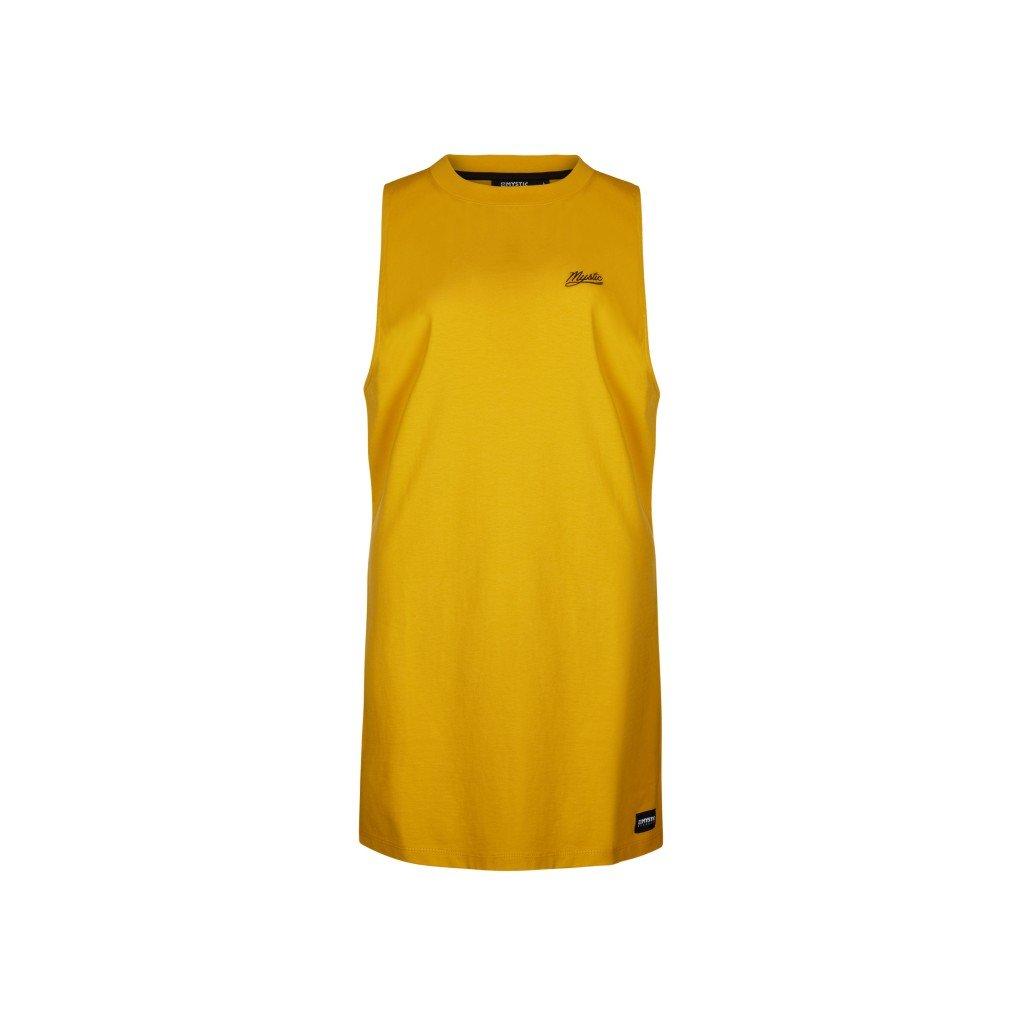 Dámské šaty Classic Dress, Mustard