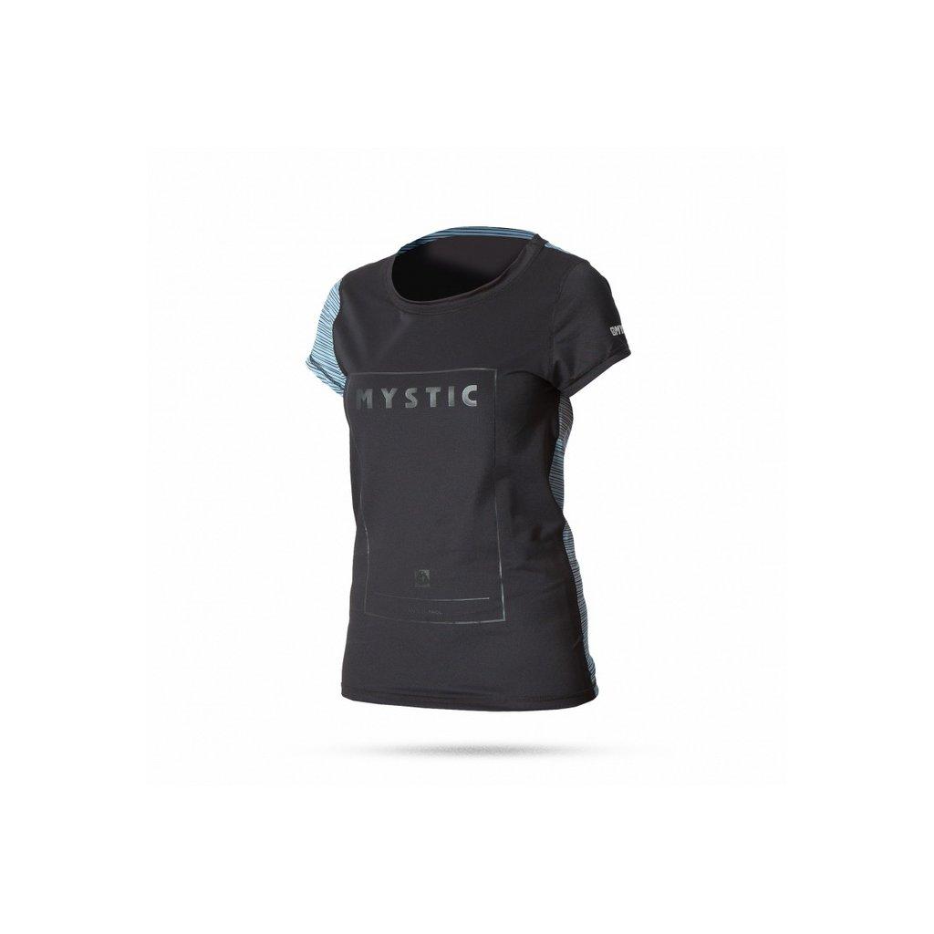 Tričko do vody Diva Quickdry Women S/S, Black