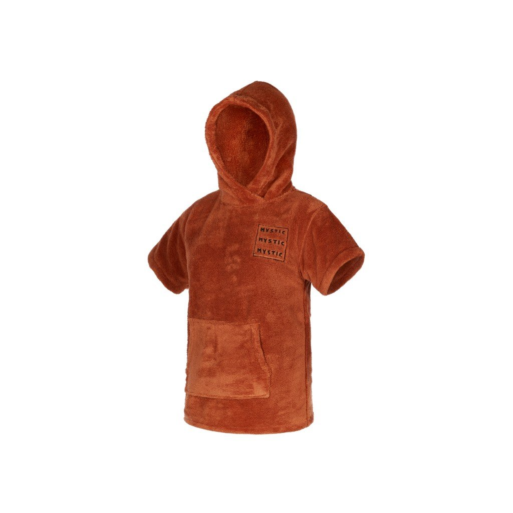 Mystic Poncho Teddy Kids, Rusty Red