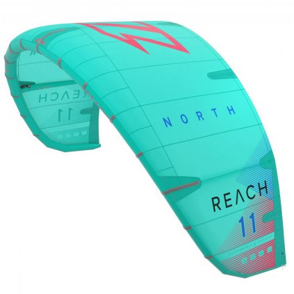 Reach Kite Low-Wind special 17m (kite only), Green