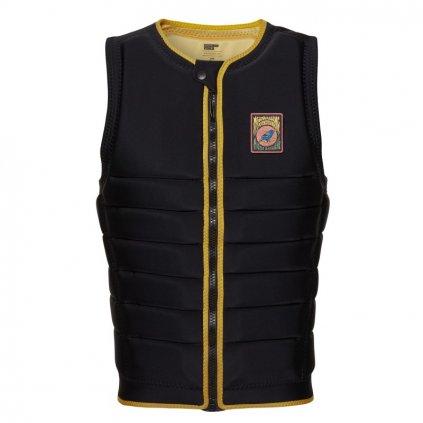 Vesta na wake The Dom Impact Vest Fzip Wake, Black / Yellow