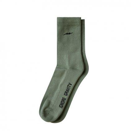 Ponožky Lowe Socks, Olive Green