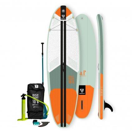 Paddleboard Challenger Brunotti 10'6'', Orange