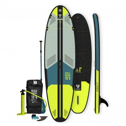 Paddleboard Challenger Brunotti 10'6'', Yellow
