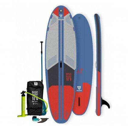 Paddleboard Discovery Brunotti 10'6'', Blue