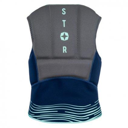 Nárazová vesta Star Impact Vest Fzip Kite Wom, Navy