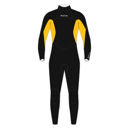 Neoprén Rental Fullsuit 5/4mm Bzip Junior, Rainbow