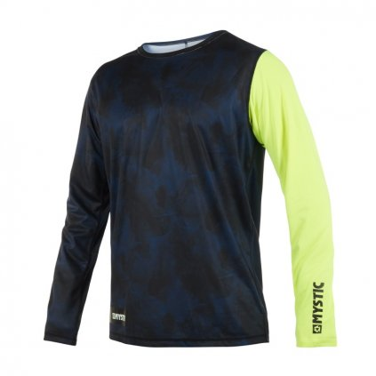 Majestic L/S Quickdry, Lime