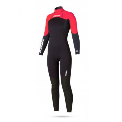 Neoprén Star Rental 5/4 Fullsuit Women, Red