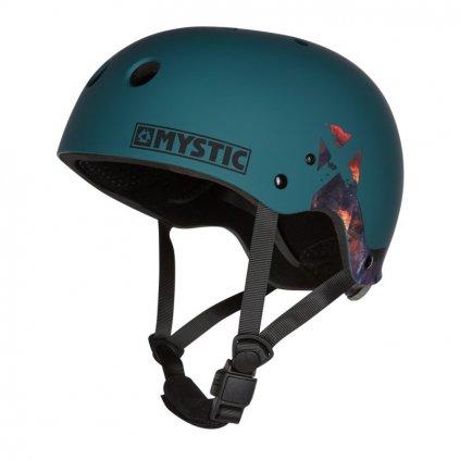 Helma MK8 X (bez chráničů uší), Teal