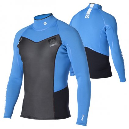 Neoprenové tričko Majestic Vest L/S Men, Blue
