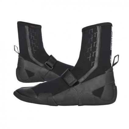 Neoprénové boty Marshall Boot 5mm Round Toe, Black