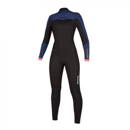 Neoprén Dazzled Fullsuit 3/2mm Bzip Women, Navy