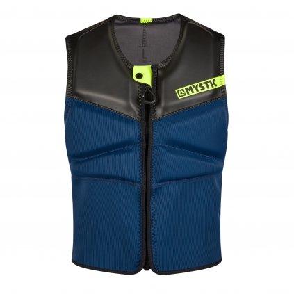 Nárazová vesta Block Impact Vest Fzip Kite, Navy/Lime
