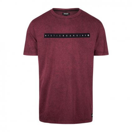 Tričko Flint Tee, Oxblood Red