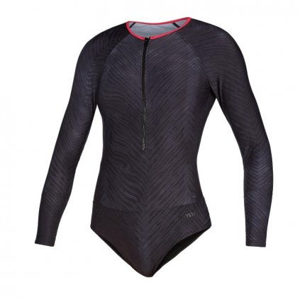 Diva L/S Swimsuit, Phantom Grey