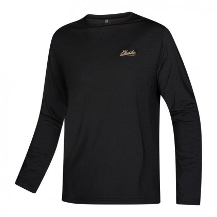 Tričko do vody Majestic L/S Rashvest Loosefit, Black